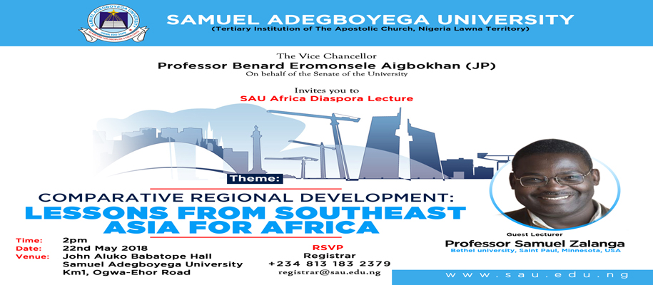 Comparative Regional Development: Lessons From South-East Asia For Africa