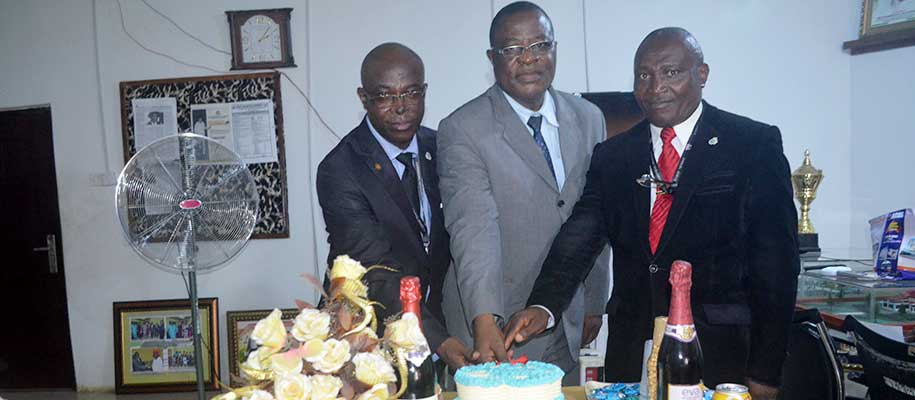 VICE-CHANCELLOR CELEBRATES 67TH BIRTHDAY