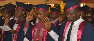 SAU HOLDS 8TH MATRICULATION CEREMONY