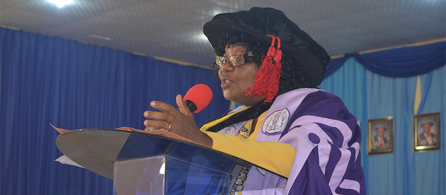 SAU Holds First Inaugural Lecture